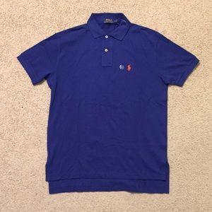Ralph Lauren Blue Men's Small Polo